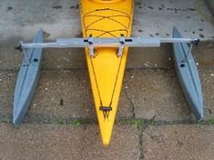kayak outriggers diy - Google Search