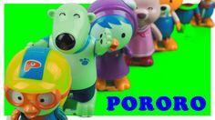 Pororo Korean Animation windup toys  뽀로로 태엽 장난감