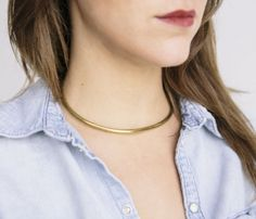 Thanks Collar Necklace