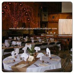 www.weddingconnectionsdecor.com www.facebook.com/weddingdecorating #wedding #weddingconnections #backdrop #rustic #countrywedding #purplehill #countrymusichall