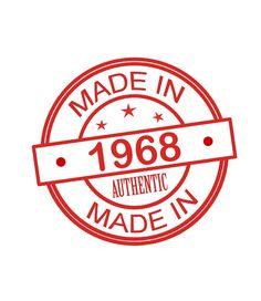 Made In 1968 - Women's 50th Birthday T Shirt