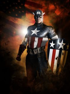 Captain America by Scott Harben