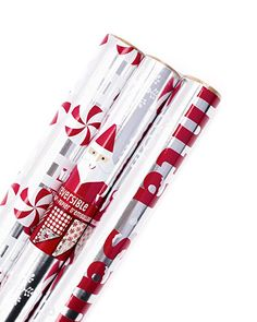 Hallmark Christmas Wrapping Paper, Santa Foil (Pack of 60 sq. for sale online Cute Christmas Tree, Christmas Travel, Christmas Wrapping, Christmas Morning, Christmas Presents, Christmas Ideas, Christmas Decorations, Advent Calendar Activities, Amazon Christmas