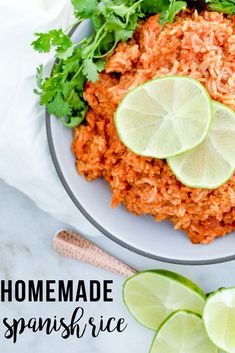 Need to spice up your next taco night?? You HAVE to try this deilicious homemade spanish rice! It's easy, tasty, and full of flavor!! #homemade #makeahead #freezerfriendly #easyfreezermeals | happymoneysaver.com Freezer Friendly Meals, Easy Freezer Meals, Make Ahead Meals, Homemade Spanish Rice, Spanish Rice Recipe, Rice Recipes, Mexican Food Recipes, Ethnic Recipes, Refried Beans