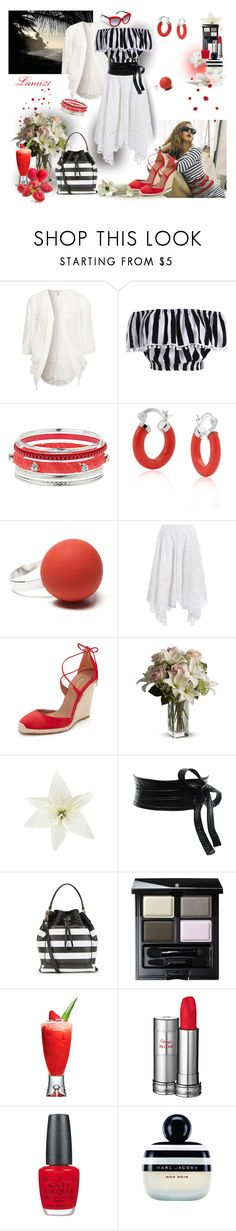 """""""summer stripes"""" by lumi-21 ❤ liked on Polyvore featuring NLY Trend, Wallis, Bling Jewelry, Hring eftir hring, Zimmermann, Aquazzura, Clips, ASOS, Isaac Mizrahi and SUQQU"""