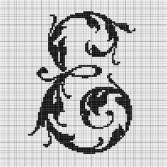 alphabet E leafy glade
