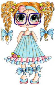 My Besties Clear Cling Stamp - Clever Chole Sweet Geek Coloring Books, Coloring Pages, Colouring, Besties, Illustration Mignonne, Image Digital, Creation Art, Cute Clipart, Illustrations