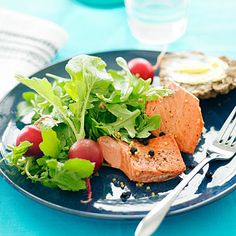 Pickled salmon salad