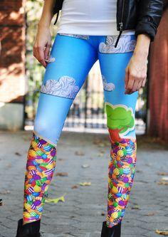 Candy Crush Leggings by Zara Terez