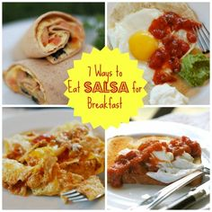 #Ad: 7 Tasty Ways to Spice up Your Breakfast with Salsa #FamilyFunNight