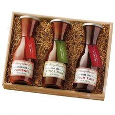 Harry & David BBQ steak sauce gift set - FOR ME!!!!
