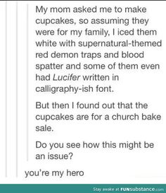 The supernatural fandom is the best