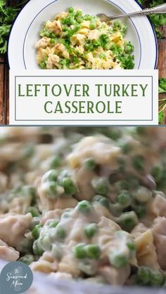 Aunt Bee's easy Leftover Turkey Casserole with pasta and cream of mushroom soup is a quick, comforting meal that takes advantage of the extra meat from your holiday feast! Creamed Mushrooms, Stuffed Mushrooms, Leftover Turkey Casserole, Easy Weeknight Dinners, Mushroom Soup, How To Cook Pasta, Thanksgiving, Meals, Dishes