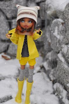 Первый снег / Куклы My Scene, Monster High, Монстер Хай от Mattel / Бэйбики. Куклы фото. Одежда для кукол