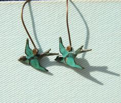 birds earrings