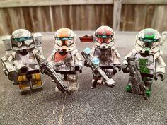 Clone Commando Lego minifigures