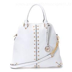 Michael Kors Uptown Astor Grande besace blanc agneauParis Store Opening #Handbags#jewellery|#jewellerydesign}
