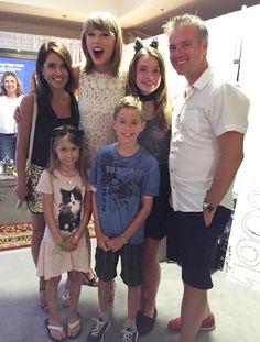 Taylor with fans in Loft '89 Glendale! 8.17.15