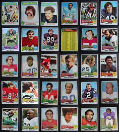 1975 Topps Football Cards Complete Your Set You U Pick From List 351-528