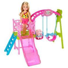 Barbie Chelsea Swing Set! : Target