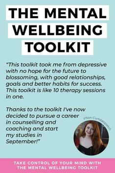 Click to learn how The Mental Wellbeing Toolkit can help you take control of your mind today #selfhelp #personalgrowth