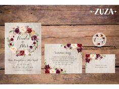 Svatební oznámení no.52 - Zuzadesignstore.cz Joko, Place Card Holders, Frame, Cards, Design, Weddings, Mariage, Wedding