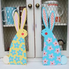 Bright and beautiful bunnies.