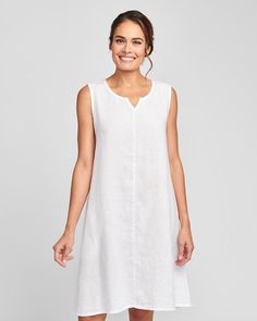 """FLAX on Instagram: """"There's nothing better in the heat! #flaxdesigns #shopflax . . . . . . . . . . . . #fashion #fashionover40 #fashionover50 #linenclothing…"""" The White Album, Fashion Over 40, White Dress, Shopping, Instagram, Dresses, Vestidos, Dress, Gown"""