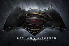 Banner con el nombre oficial; Batman vs. Superman: Dawn of Justice