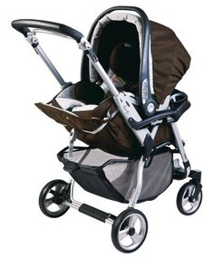 Peg Perego Vela Easy Drive Stroller, Newmoon - Click image twice for more info - See a larger selection of baby single strollers  at http://zbabyproducts.com/product-category/single-strollers/ -baby,kids, infant, nursery, kid, child, toddler, baby outdoor gear, baby gift ideas,baby products