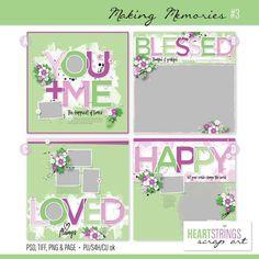Personal Use :: Templates :: Making Memories #3