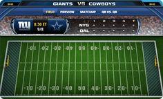 Dallas Cowboys, Dallas Cowboys 2013 schedule, Dallas Cowboys 2013-2014 NFL Schedule, Dallas Cowboys vs. New York Giants, NFL