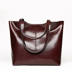 """e278729648f3 Classy Stores Online on Instagram  """"Check out this beautiful Large Soft  Genuine Cowhide Leather Shoulder Tote Bag!"""""""