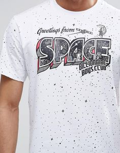 Image 3 of Billionaire Boys Club T-Shirt With All Over Space Print