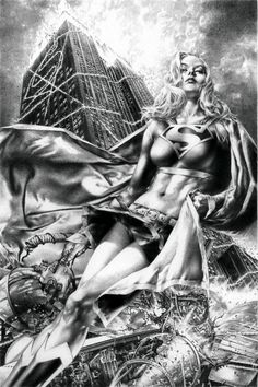 Supergirl by Jay Anacleto  Auction your comics on http://www.comicbazaar.co.uk