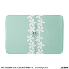 Browse Zazzle's selection of Pattern bath mats. Choose from our pre-designed collection of bath mats or customise your own. Mint Color, Bath Mats, Home Decor Accessories, Soap Dispenser, Romantic, Floral, Pattern, Design, Model