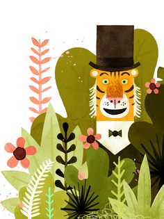 Mr. Tiger Goes Wild: A Charming Modern-Day Fable about Authenticity and Acceptance | Brain Pickings