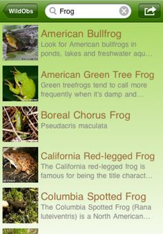 WildObs-  record encounters and learn species near you.