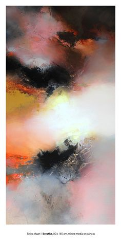 Eelco Maan love Abstract Art Painting