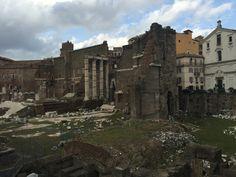 Forum van Augustus, een van de vier fora in Rome