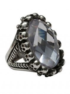 Circle of Skulls Ring by Femme Metale