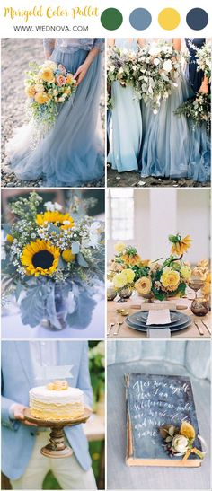 Summer Wedding Color: 10 Yellow Wedding Ideas to Have - WedNova Blog