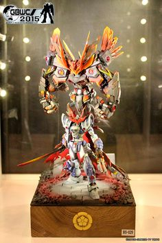 Gunpla Builders World Cup (GBWC 2015) - Contest Regions Winners