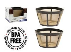 goldtone brand reusable basket filter fits bonavita coffee makers and brewers replaces your bonavita coffee filter and bonavita reusable coffe filter 2