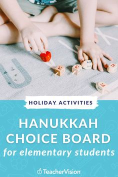 This Hanukkah-themed and blues-buster holiday choice board features 8 fun, skill-building activities to help students celebrate the holiday either in class during live learning or at home during remote learning! Perfect for elementary students. #hanukkah #holiday #choiceboard #elementarystudents