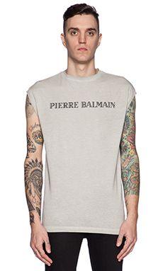 Pierre Balmain Graphic Tee in White