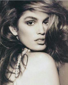 Cindy Crawford for Vogue Paris 1989