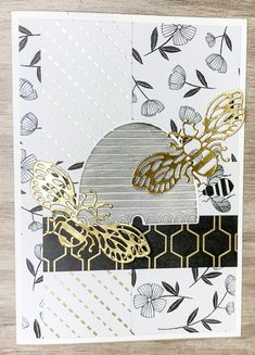 Honey Bee Stamp Is Buzzing Away ⋆ Eager To Stamp