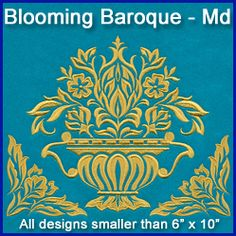 A Blooming Baroque Design Pack - Md