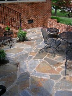irregular flagstone... would love for our patio and deck